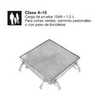 Tapas Arqueta C. Carga A-15
